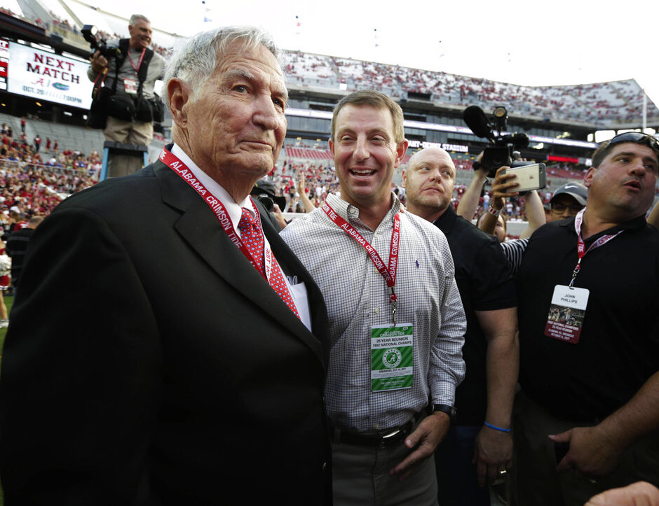 Gene Stallings, Dabo Swinney