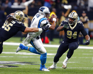 Saints Panthers Preview Football