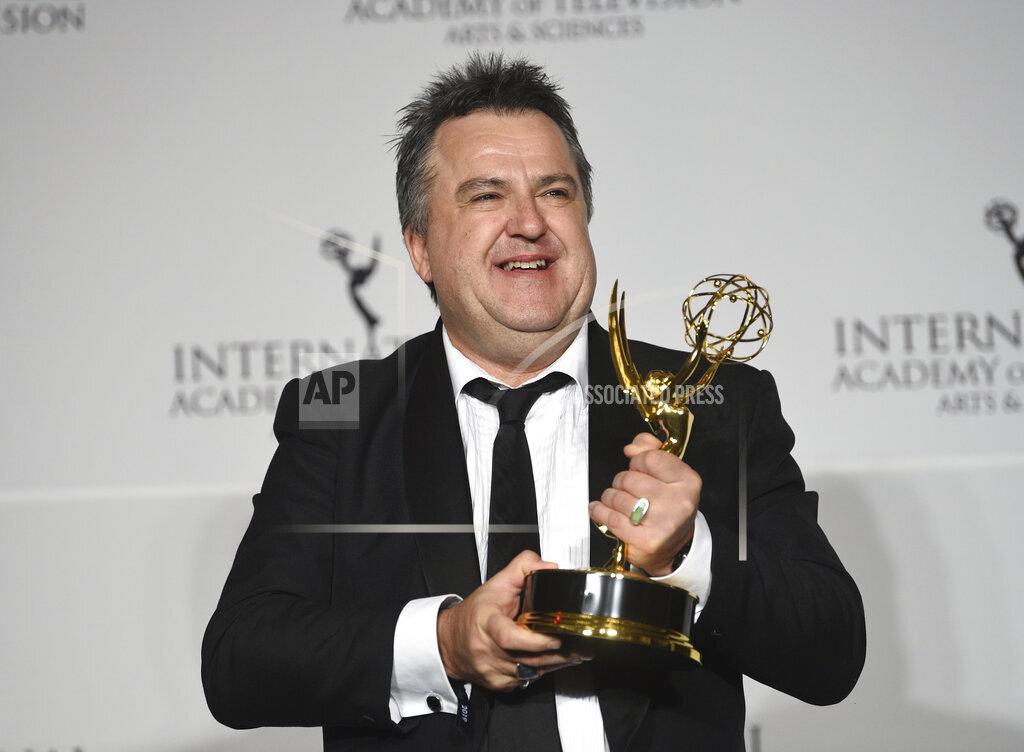 2019 International Emmy Awards - Press Room