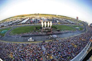 NASCAR Charlotte All Star Auto Racing