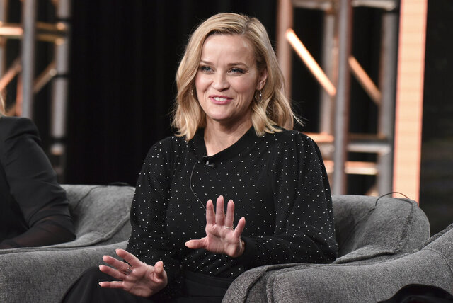 Reese Witherspoon participates in the Hulu