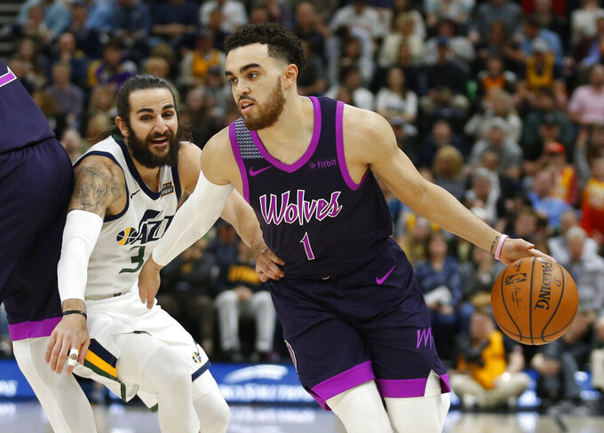 Minnesota Timberwolves at Utah Jazz 3/14/2019