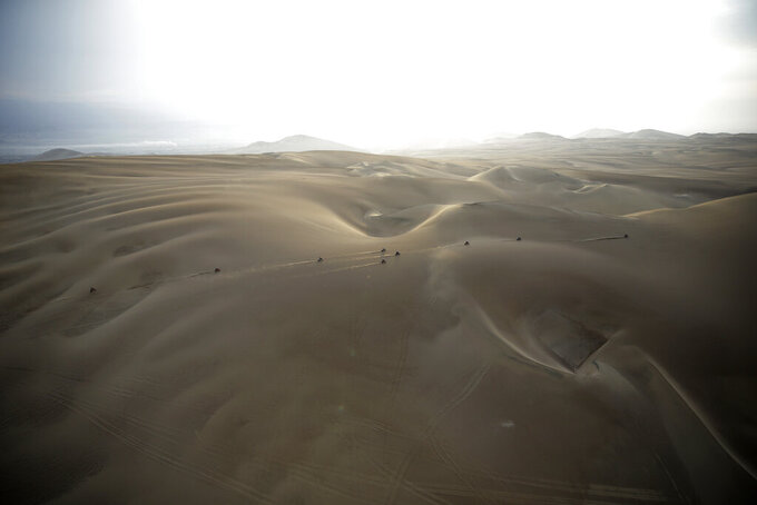 Dakar Rally moves from South America to Saudi Arabia