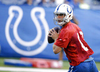 Colts Camp Football