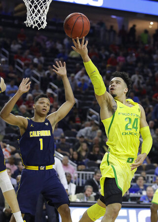 P12 California Oregon Basketball