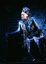 This 1995-1996 image released by the Metropolitan Opera shows soprano Jessye Norman as Emilia Marty in Janáček's