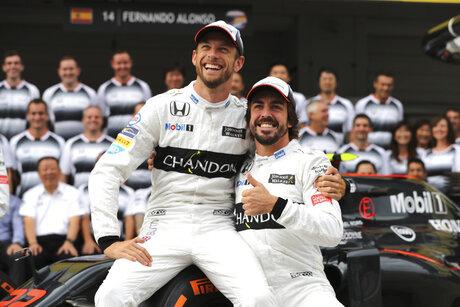 Bahrain F1-McLaren Button Returns