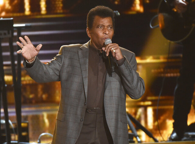 FILE - Charley Pride performs