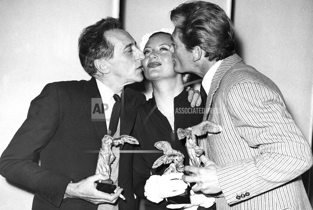 Watchf AP I   FRA APHSL30471 France Cannes Jean Cocteau Michele Morgan Jean Maris