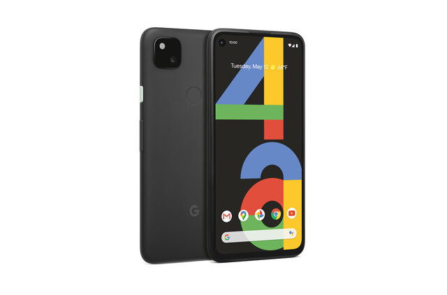 An image provided by Google shows the Pixel 4A budget smartphone, which has the same high-quality camera and several other features available in fancier Pixel models. The phone, unveiled Monday, Aug. 3, 2020, will be available Aug. 20 after months of delay caused by supply problems triggered by the coronavirus pandemic. It will cost $349, a $50 discount from a cheap Pixel released last year. It's also a major markdown from other higher-end models in the existing product line-up that start at $799. (Google via AP)