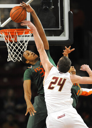 Miami Boston College Basketball