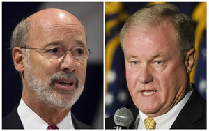 Tom Wolf, Scott Wagner