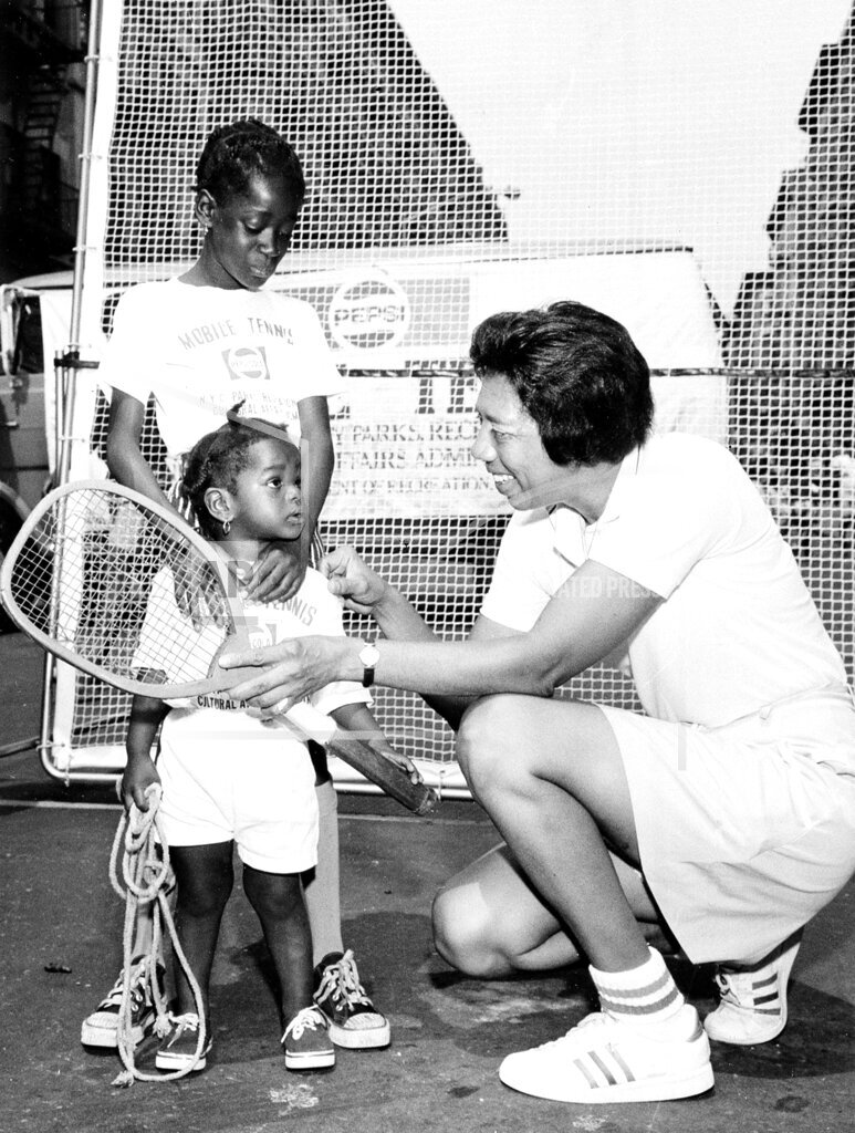 Associated Press Domestic News New York United States Tennis NYC ALTHEA GIBSON SUMMER TENNIS