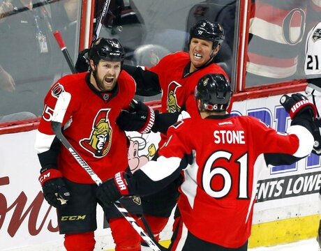 Kings Senators Hockey