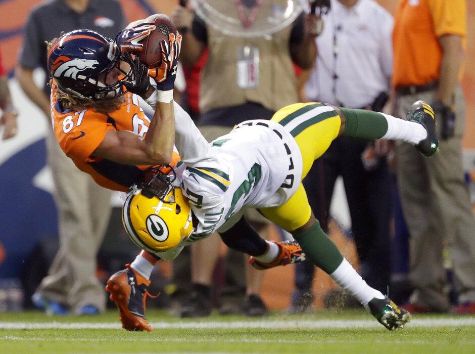 APTOPIX Packers Broncos Football