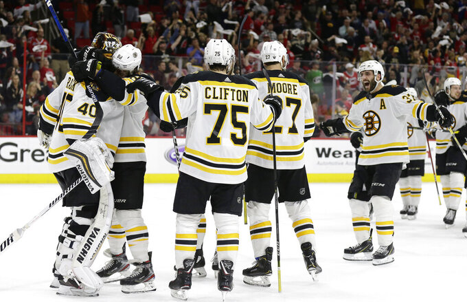 Boston Bruins at Carolina Hurricanes 5/16/2019