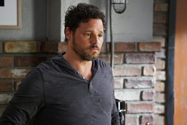 This image released by ABC shows Justin Chambers in a scene from