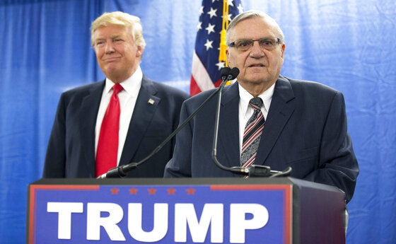 Donald Trump, Joe Arpaio