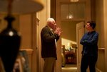 This image released by Sony Pictures Classics shows Anthony Hopkins, left, and Olivia Colman in a scene from