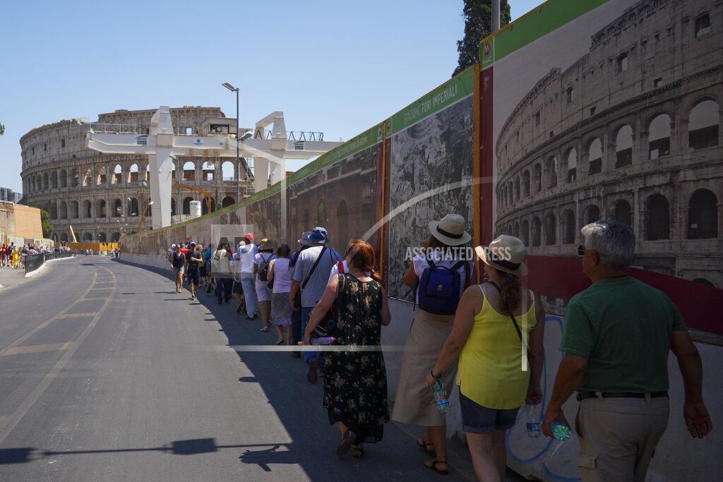 Italy Europe Heat Wave