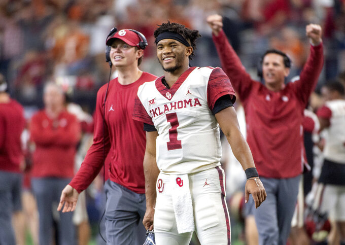 Murray the Big 12 offensive player of year, OU's 4th in row