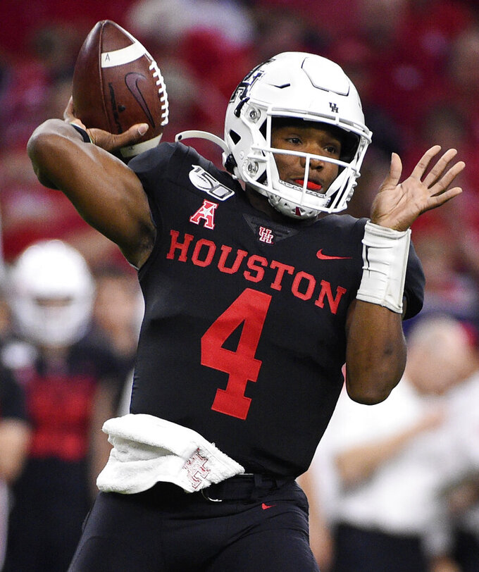 D'Eriq King intends to stay at Houston