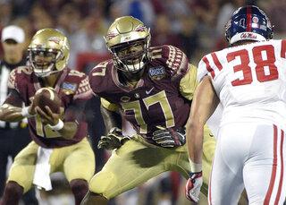 Florida St Johnson Draft Football
