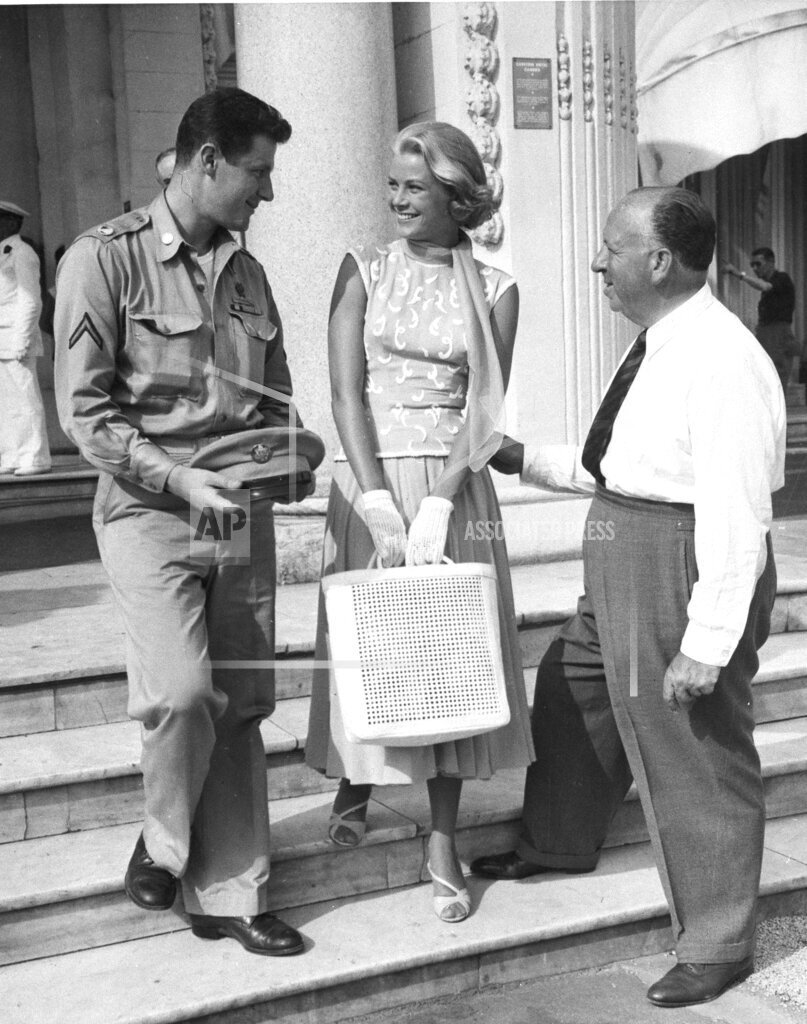 Associated Press International News France Entertainment GRACE KELLY AND HITCHCOCK