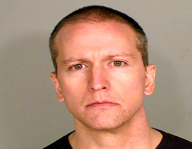 FILE - This file photo provided by the Ramsey County Sheriff's Office shows former Minneapolis police Officer Derek Chauvin, who was arrested Friday, May 29, 2020, in the Memorial Day death of George Floyd. Prosecutors are charging Chauvin, accused of pressing his knee against Floyd's neck, with second-degree murder, and for the first time will level charges against three other officers at the scene, a newspaper reported Wednesday, June 3, 2020.  (Courtesy of Ramsey County Sheriff's Office via AP, File)