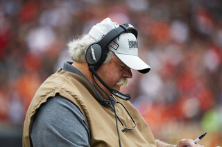 Browns-Coach Injured Football