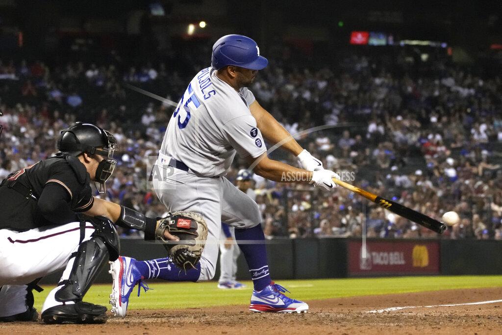 Dodgers Diamondbacks Baseball