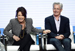 Patricia Heaton, left, and Kyle MacLachlan, cast members in the CBS series