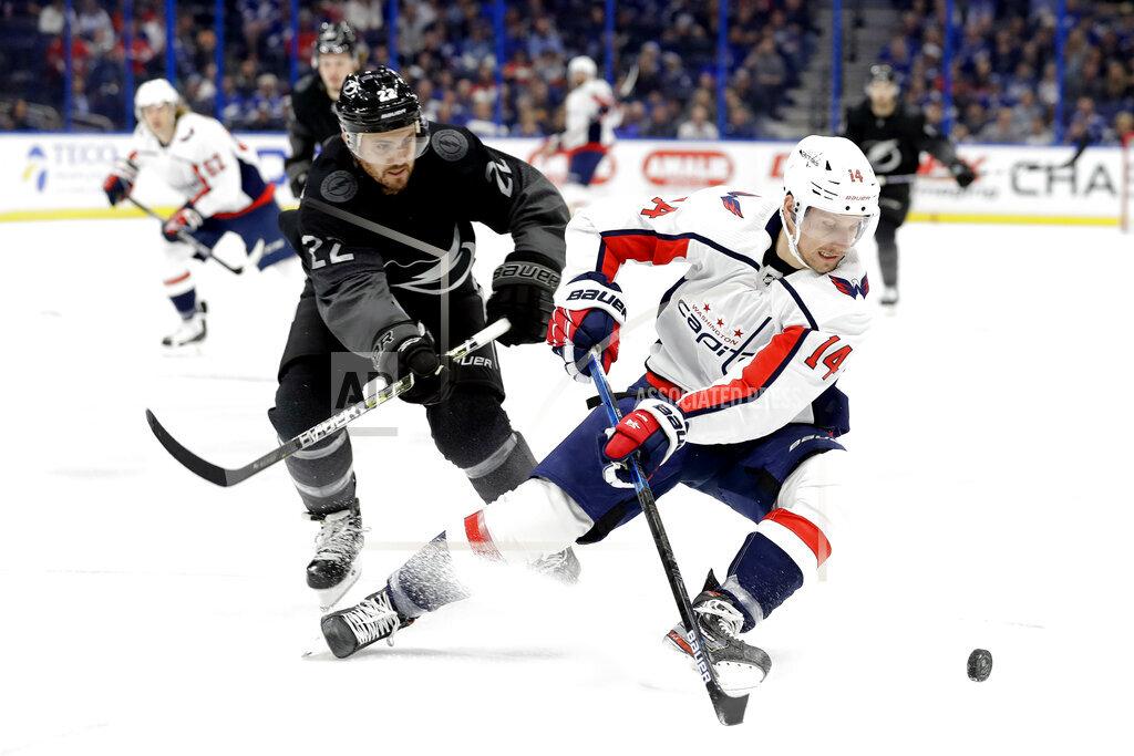 Capitals Lightning Hockey