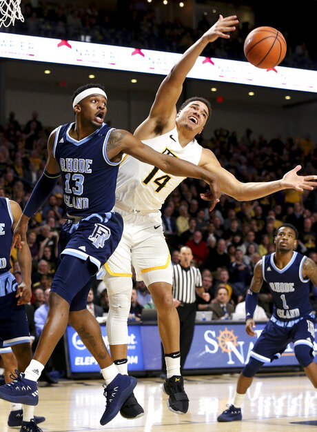 Rhode Island VCU Basketball
