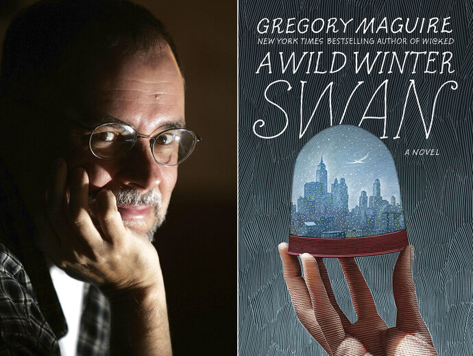 This combination photo shows Gregory Maguire, the best-selling author of