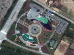 This May 29, 2020, satellite image provided by Maxar Technologies shows an inter-Korean liaison office building at a shuttered joint industrial park in Kaesong, North Korea. The North blew up the liaison office building just north of the heavily armed border with South Korea on June 16, 2020 in a carefully choreographed, largely symbolic display of anger. (Maxar Technologies via AP)