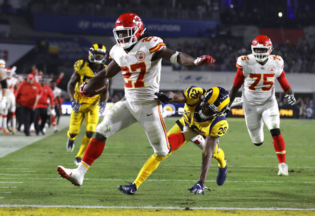 Browns Kareem Hunt Football