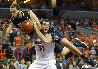 APTOPIX California Virginia Basketball