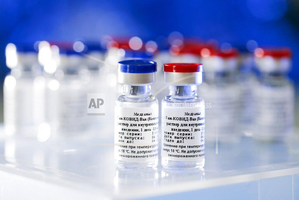 Virus Outbreak Russia Vaccine