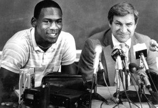 Dean Smith, Michael Jordan