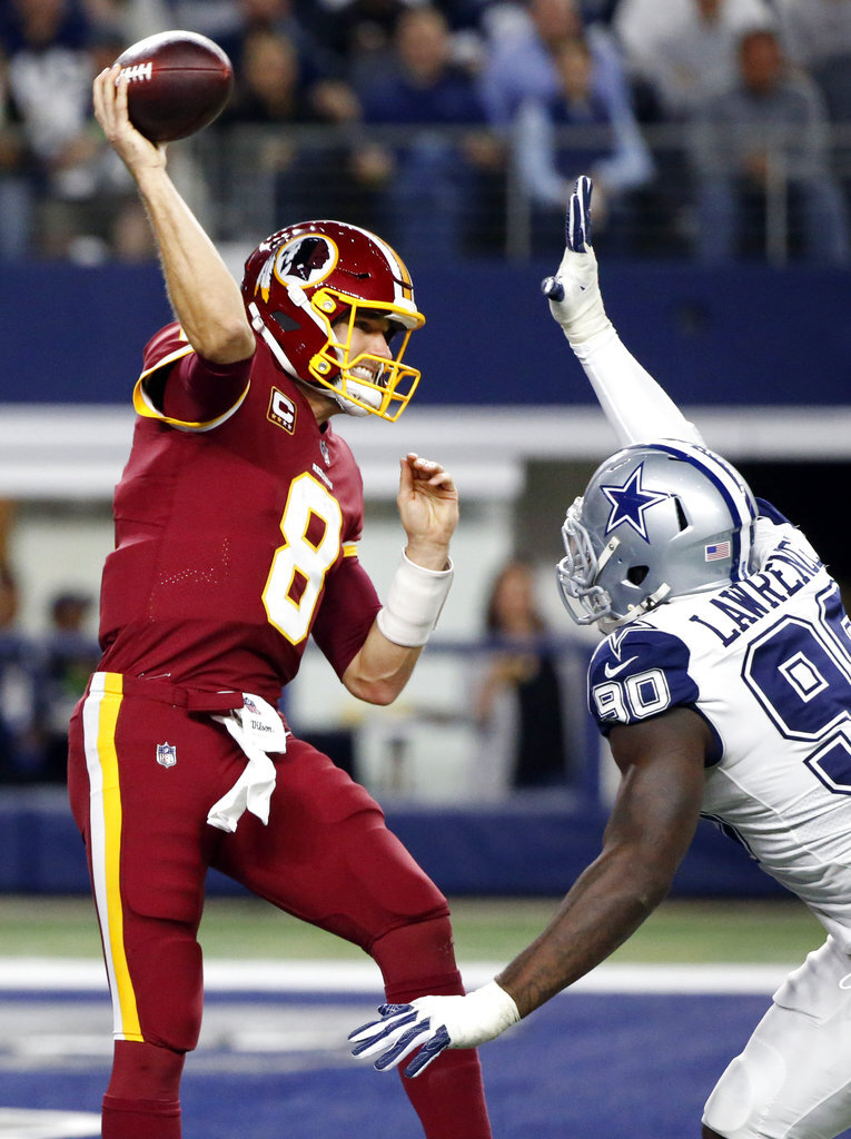 DeMarcus Lawrence, Kirk Cousins