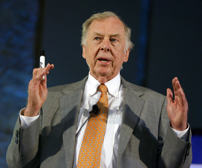 Reaction to the death of oil tycoon T. Boone Pickens