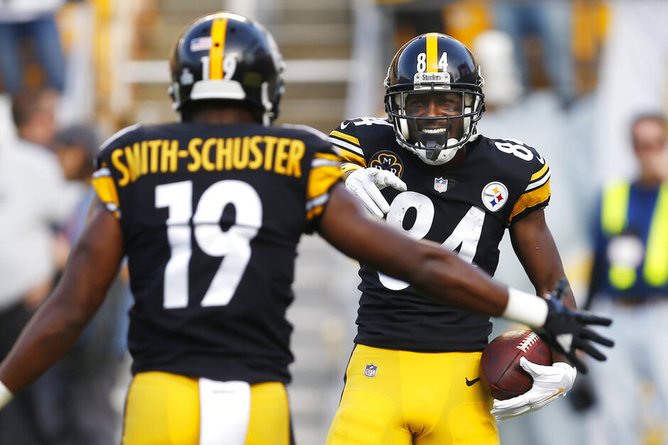 Antonio Brown, JuJu Smith-Schuster