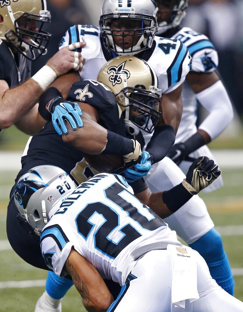 Mark Ingram, Kurt Coleman