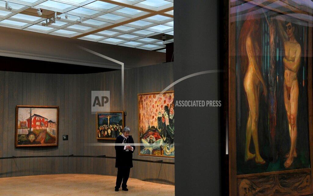 Russia Edvard Munch Exhibition