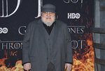 George R. R. Martin attends HBO's