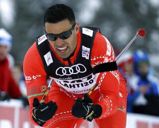 Pyeongchang Olympics Cross Country Tongan Skier