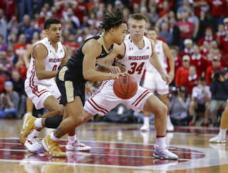 Purdue Wisconsin Basketball