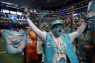Dolphins Draft Football