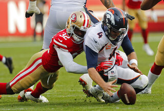 Broncos 49ers Football